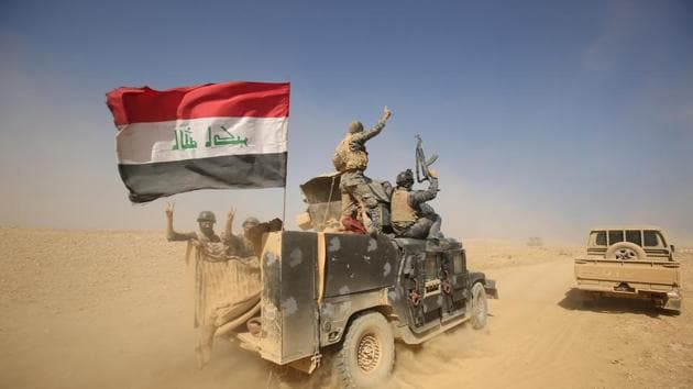The Iraqi army says it's moving units south and west of Mosul ahead of an expected push to retake the city's western half from the Islamic State group in the final, decisive battle for the city.(AFP File Photo)