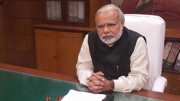 Vikas Mahante has acted in a film titled Modi Ka Gaon based on PM Modi's rural development schemes.(Vikas Mahante Facebook)