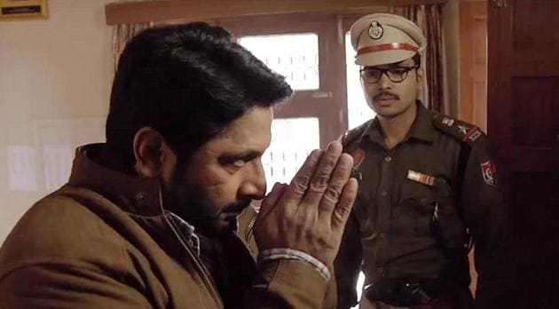 Arshad Warsi plays an intelligent cop with a lot of swagger in Irada.