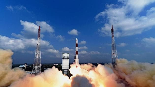 ISRO successfully launching a record 104 satellites, including India's earth observation satellite on-board PSLV-C37/Cartosat2 Series from Sriharikota on Wednesday. If the agency's successes have whetted your appetite for a career at an organisation where the sky is not the limit, the application is open till March 7.(PTI)