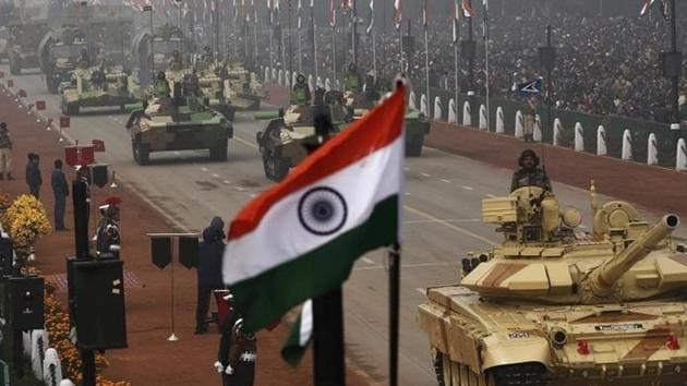 India was the world's largest importer of major arms in the last five years and its overseas procurement was far greater than that of China and Pakistan.(Reuters File Photo)