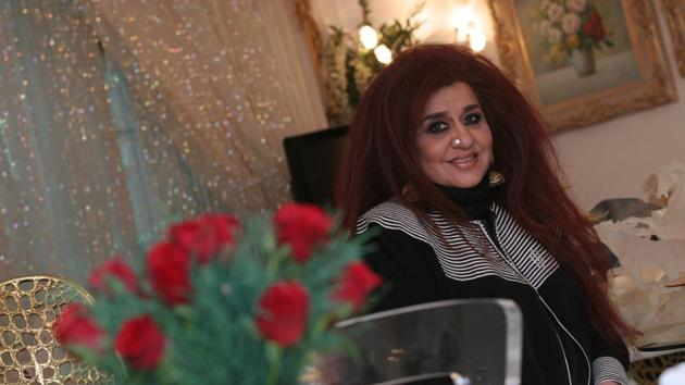 Shahnaz Husain has been influenced by her mother, Sayeeda Begum, who always advised her to include natural items in her beauty regimen.(HT Photo)