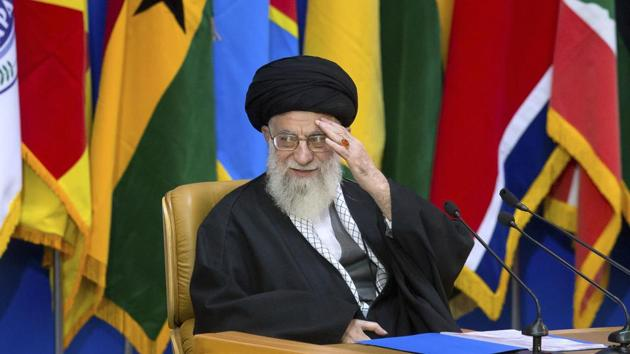 Iran's supreme leader Ayatollah Ali Khamenei made the remarks at the 6th International Conference in Support of the Palestinian Intifada (Uprising) in Tehran on Tuesday, Press TV reported.(AP)