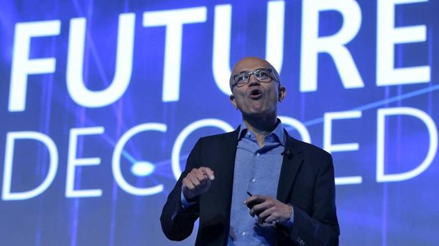 Satya Nadella launches Skype Lite, Skype to support Aadhar identity