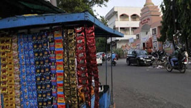 The ban also applies on processed, flavoured, scented, chewing tobacco, whether they are packaged or unpackaged or sold as one or separate products, an official spokesperson said.(HT file)