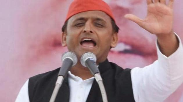 Hitting out at Amit Shah for 'KASAB' remark, Uttar Pradesh Chief Minister Akhilesh Yadav on Thursday accused BJP leaders of coining petty acronyms for the fear of defeat in the the Assembly polls.(PTI File Photo)