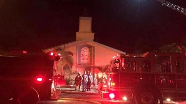 Fire investigators responded at around 2 a.m. After gathering evidence, they determined the fire was intentionally set. No one was at the mosque when the fire started.(Reuters File Photo)