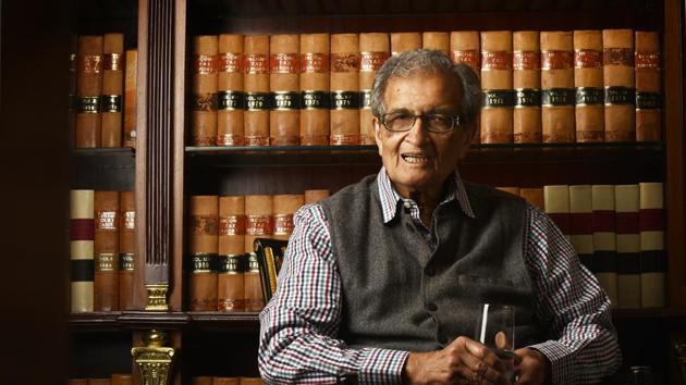 Nobel Prize winner and economist Amartya Sen.(Photo: Raj K Raj / HT)