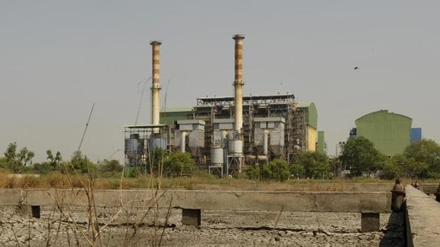 The Okhla Waste Management Plant .(Saumya Khandelwal/ HT File Photo)