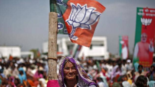 The UP polls is now turning into a larger battle driven by the Modi factor even as Congress-SP alliance is fighting to hold on to the edge they had been having.(Reuters Photo)