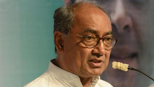 AICC general secretary Digvijaya Singh.(HT File Photo)