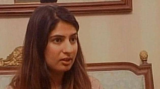 Delhi University student Gurmehar Kaur, whose social media campaign against the ABVP went viral.(ANI Photo)
