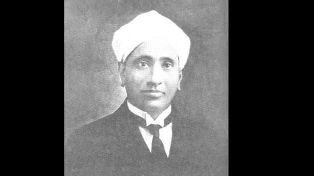 Indian Nobel Prize winning physicist CV Raman (1888-1970)