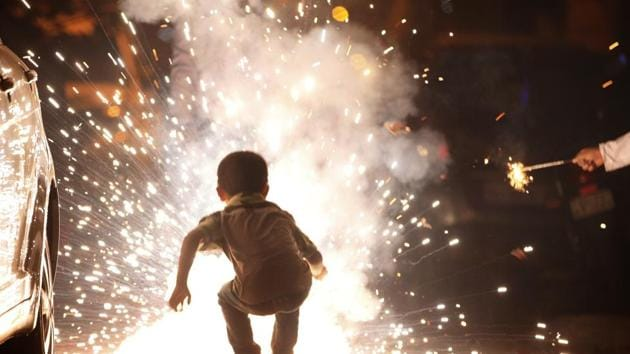 """The man had killed the neighbour because he had """"scolded"""" and """"insulted"""" him over bursting crackers near his house on the occasion of Diwali last year.*(HT File Photo)"""