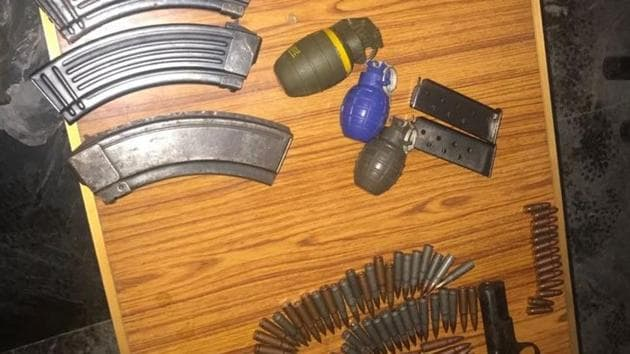 Tuesday's recovery of the weapons is believed to be the first such seizure on the Kashmir cross-LoC trade route.(ANI Photo)