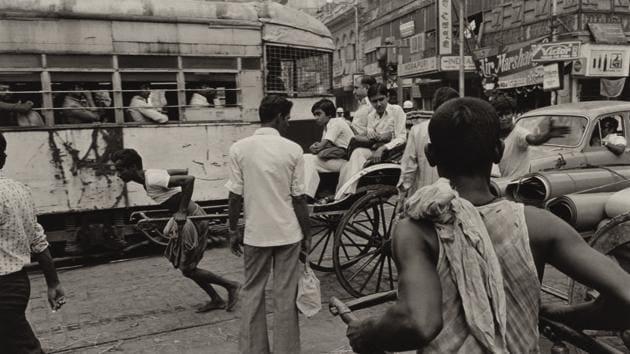 Calcutta, India, 1980(Photo courtesy: David M Rubenstein Rare Book & Manuscript Library at Duke University)
