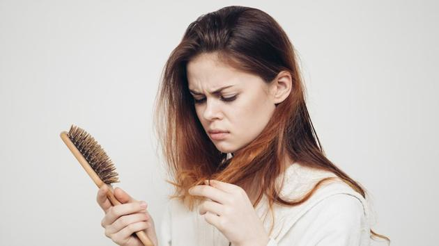Aging is not the only cause. There can be several reasons for hair loss, such as hormonal changes.(Shutterstock)