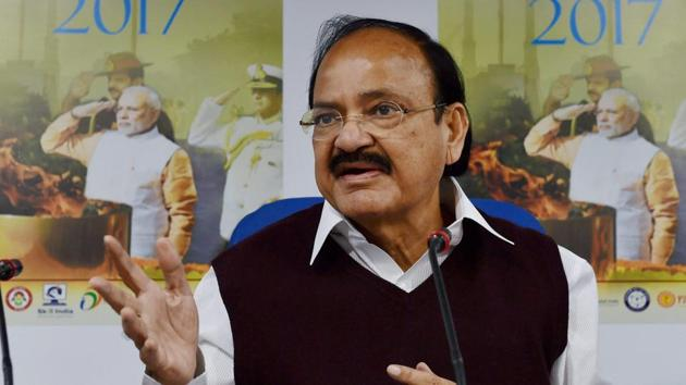 Union housing and poverty alleviation minister Venkaiah Naidu says his ministry is in talks with the finance ministry on the need to continue exemption of low-cost housing from service tax under the soon to be rolled out GST regime.(PTI File)