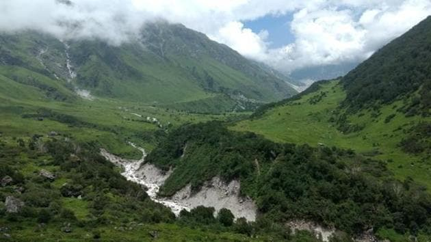 The valley opens in June and closes in October every year.(HT Photo)