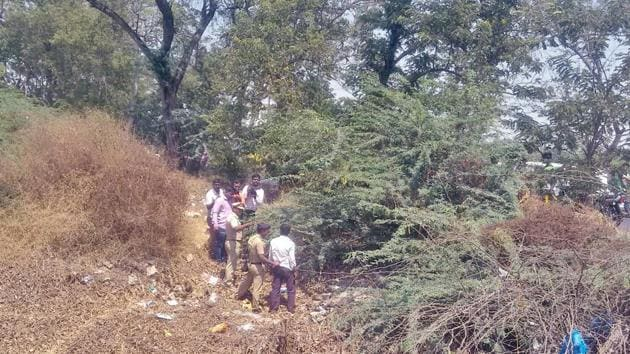 The female foetuses were found on Sunday dumped near a stream at Mhaisal village in Sangli district.(HT FILE)