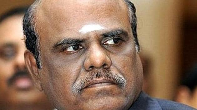 A seven-judge bench headed by Chief Justice of India JS Khehar issued the order directing justice CS Karnan's presence on March 31 because the judge ignored an earlier court order summoning him.(ANI Photo)