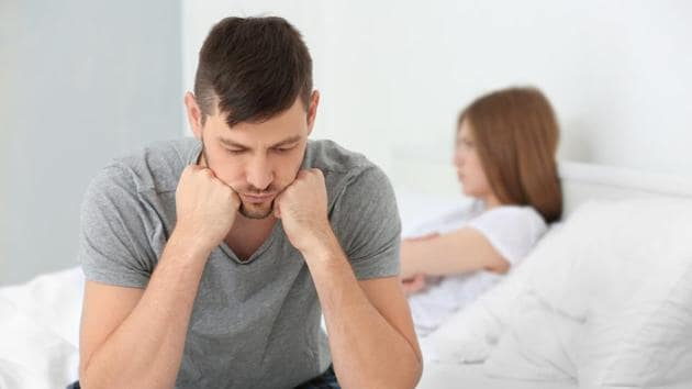 The study found that persistent erectile dysfunction continued despite stopping the use of the drug and continued despite taking Viagra.(Shutterstock)