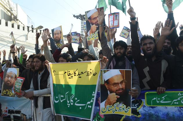 Pakistan recently put Lashkar-e-Taiba founder Hafiz Saeed under house arrest, but the US has made clear it wants Islamabad to do more in its counterterrorism efforts.(AFP File)