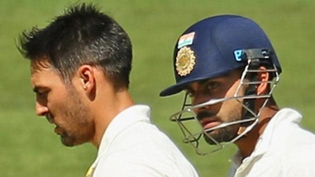 Mitchell Johnson believes Virat Kohli is 'frustrated' with lack of form against Australia.(Getty Images)