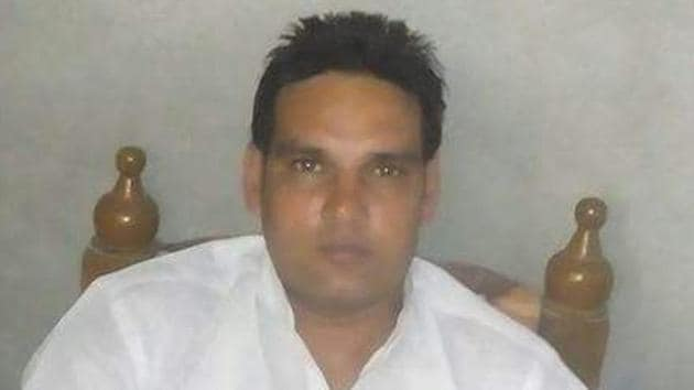 Raju alias Rajesh one of the victim killed in the shooting between truck union groups.(HT Photo)