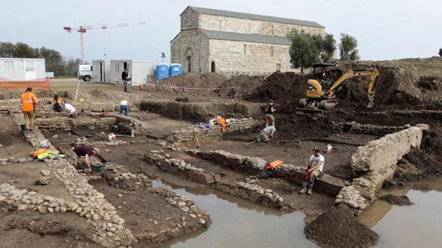 350 archaeological remains were discovered in Narmada Vallery under Khargone district in Madhya Pradesh.(AFP File Photo)
