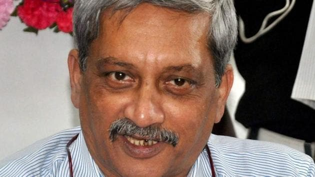 Manohar Parrikar has submitted a list of 21 MLAs to governor Mridula Sinha to form the government in Goa.(PTI File Photo)