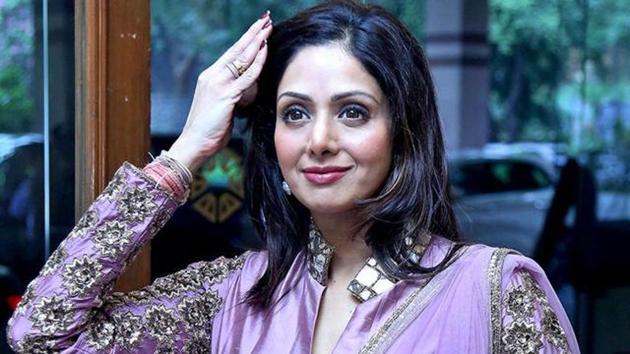 Sridevi returned to Bollywood with English Vinglish (2012).