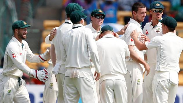 Australia cricket team will play their 800th Test match when they take on India in Ranchi.(REUTERS)