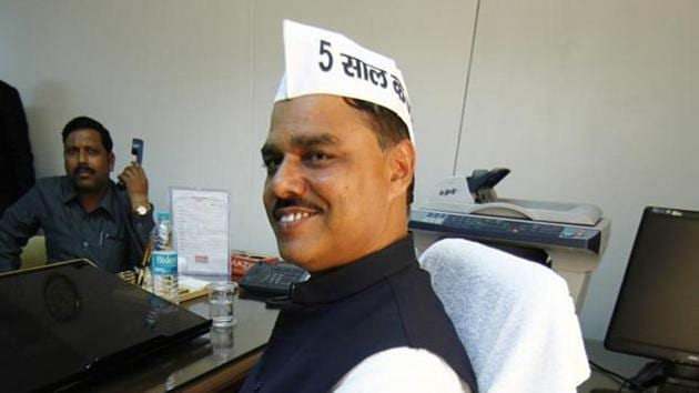 The university committee had earlier found the migration certificate of the former Law Minister of the Arvind Kejriwal government wrong and on the basis of it had recommended cancellation of the Law degree.(PTI File Photo)