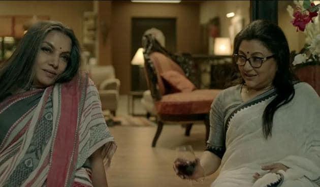 Shabana Azmi and Aparna Sen play close friends in Sonata.