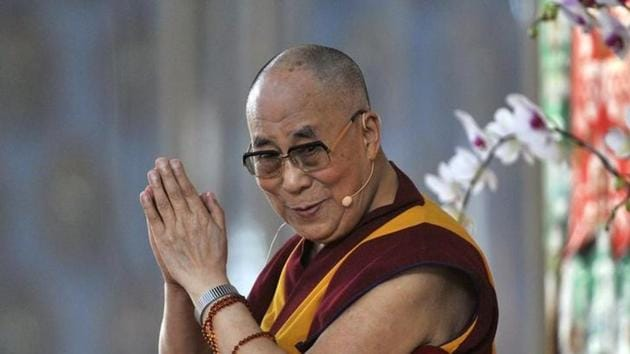 """The Dalai Lama inaugurated the three-day international Buddhist conference on the theme """"The Relevance of Buddhism in the 21st Century"""" at Nalanda, on Friday.(Reuters File Photo)"""