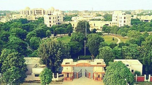 IIIT- A Jhalwa campus.(HT File Photo)