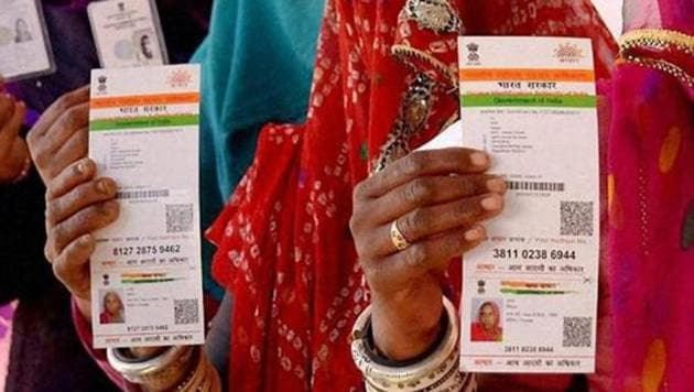 Finance minister Arun Jaitley has said Aadhaar may become the only identity card in future.(PTI File)