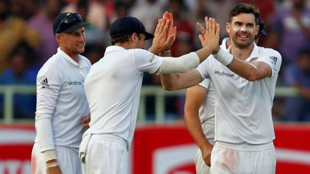 James Anderson, England's all-time leading Test wicket-taker, said the launch of Twenty20 had hit crowds for Test matches.(Reuters.)