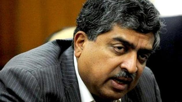 Nilekani – the brain behind the Unique Identification Authority of India (UIDAI) and its first chairman – appeared to defend Aadhaar in the face of a storm of criticism of India's largest identification system.(AFP file photo)
