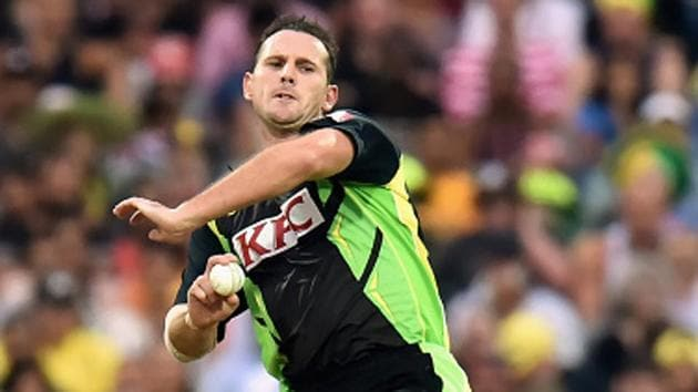 Shaun Tait, Australian pacer, was well known for reportedly bowling the second fastest delivery in cricket history. He has retired from all forms of cricket.(Getty Images)