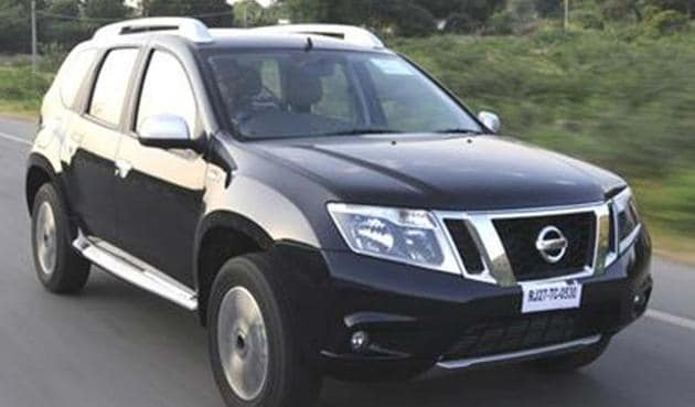 Japanese auto major Nissan today launched an all new version of its SUV Terrano.