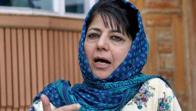 The by-elections for two Lok Sabha seats in Kashmir Valley will be an acid test for chief minister Mehbooba Mufti who heads the PDP-BJP government in Jammu and Kashmir.(PTI)