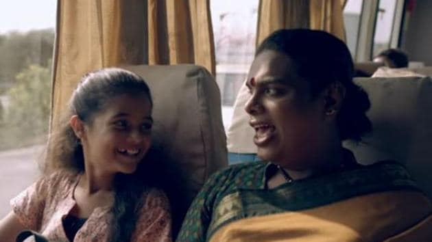 This is Gauri Sawant's story, a transgender and an activist, who adopts orphaned Gayatri and fights against societal stigma to raise her as her own child.(YouTube screengrab)