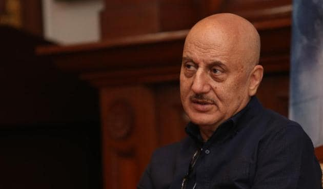 Actor Anupam Kher's 500'th film, The Big Sick, was premiered at the Sundance Film festival.(Photo: Amal KS/HT Photo)