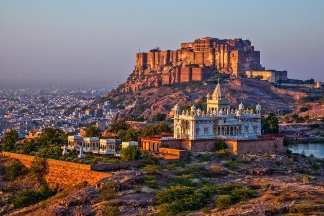 Jodhpur, known for the 15th-century Mehrangarh Fort, is a preferred destination for tourists visiting Rajasthan.(Shutterstock)