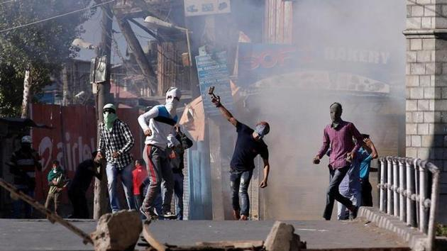 """Lashing out at the separatists, Union minister Jitendra Singh on Saturday said whether they were ready to make their children stone-pelters for their """"cause"""".(Reuters File Photo)"""