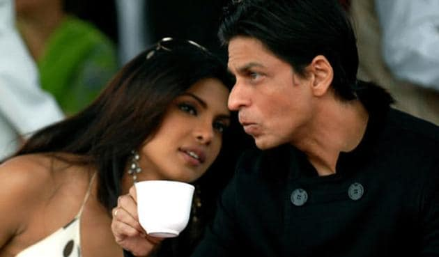 It is rumoured that Priyanka Chopra and Shah Rukh Khan had an affair for some time before calling it off.