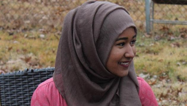 Heraa Hashmi, 19, is behind Muslimscondemn.com, a database that records Muslims denouncing terror.
