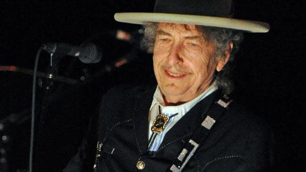 American singer, songwriter, poet, artist and actor, Bob Dylan finally received his Nobel literature prize in a meeting with the Swedish Academy, which awarded him for his poetry.(AFP File Photo)